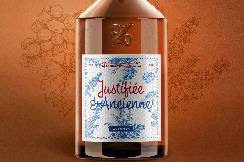 Justifiée & Ancienne absinthe