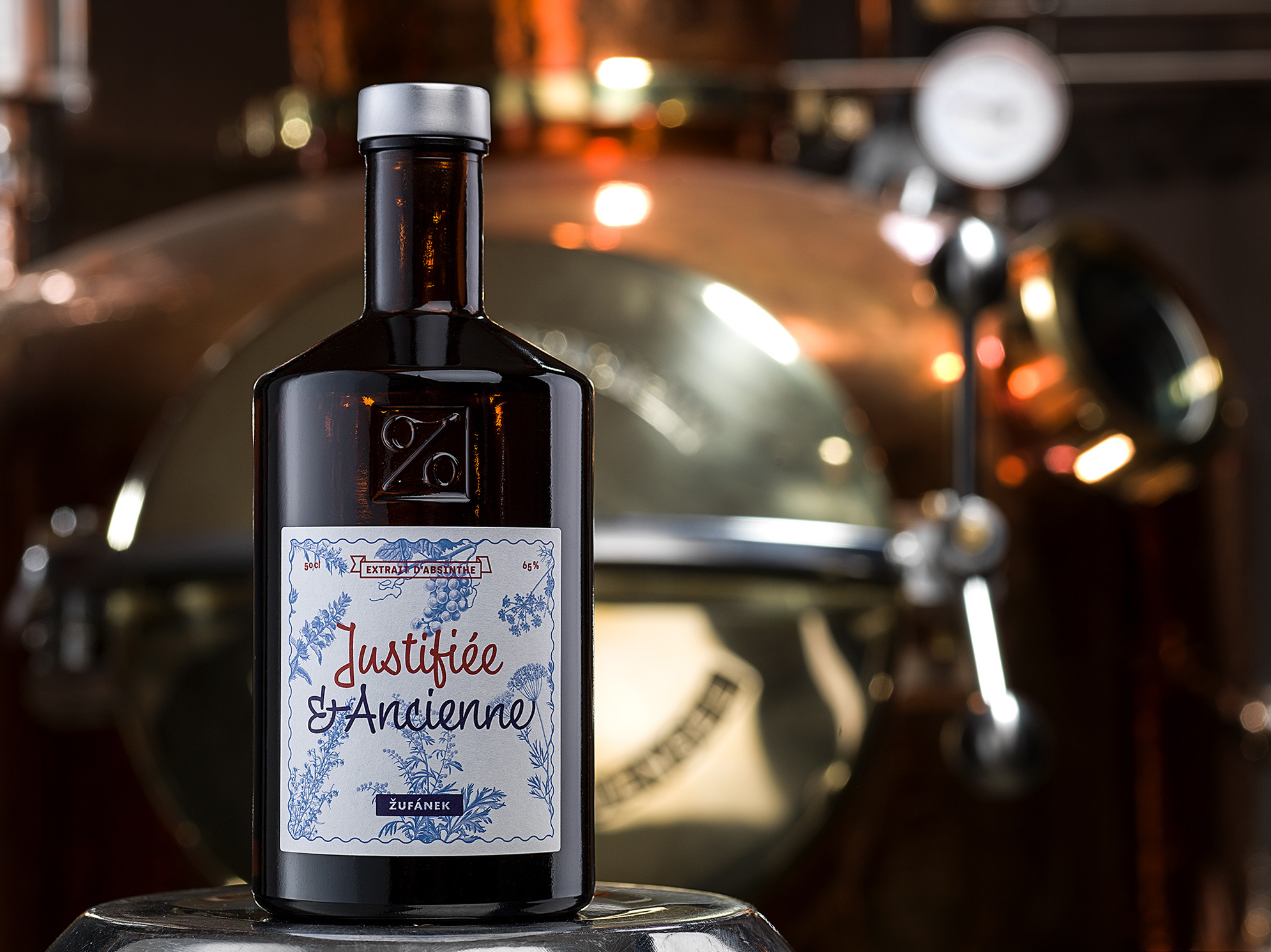Justifiée et Ancienne absinthe