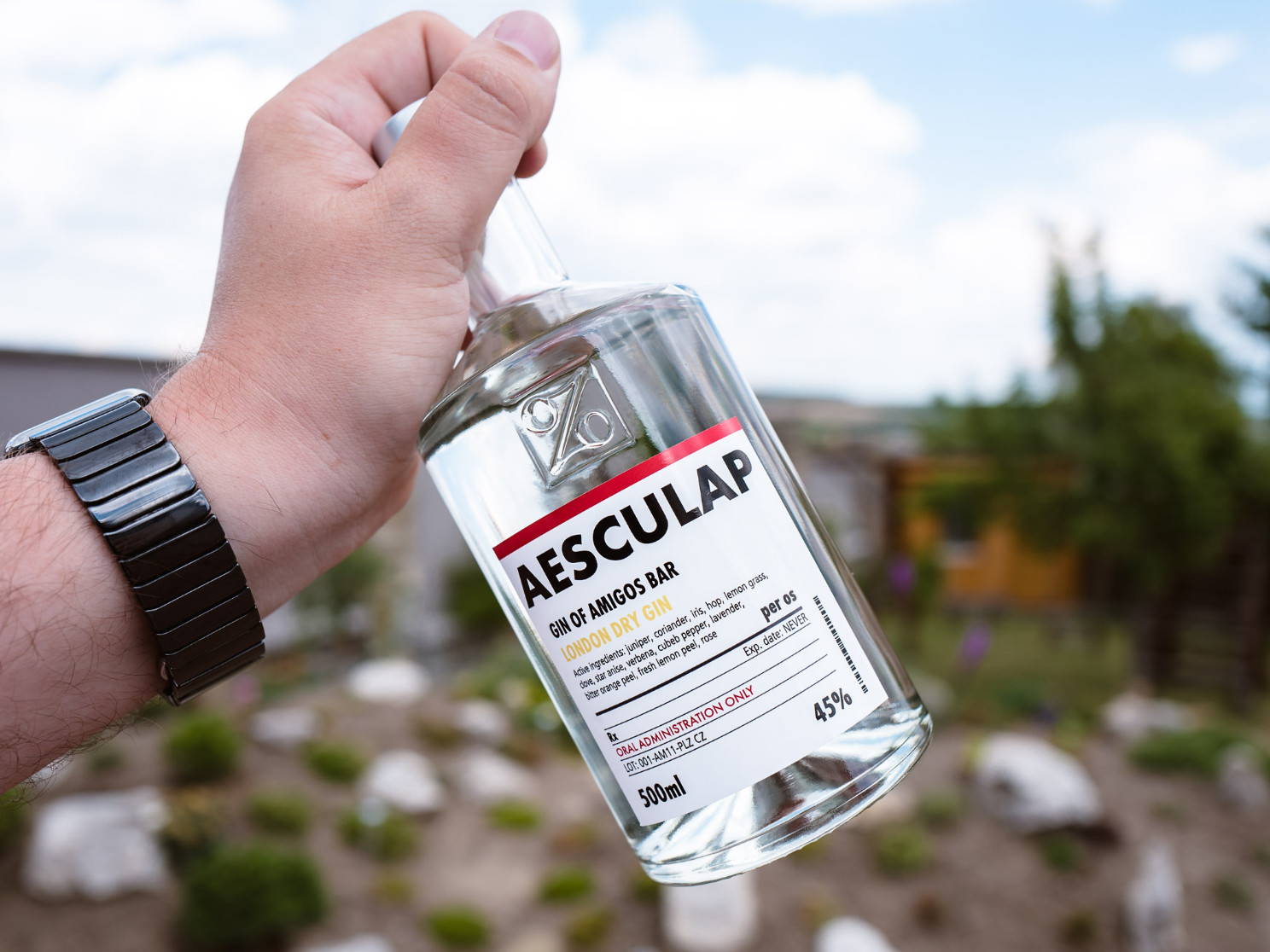 Aesculap gin