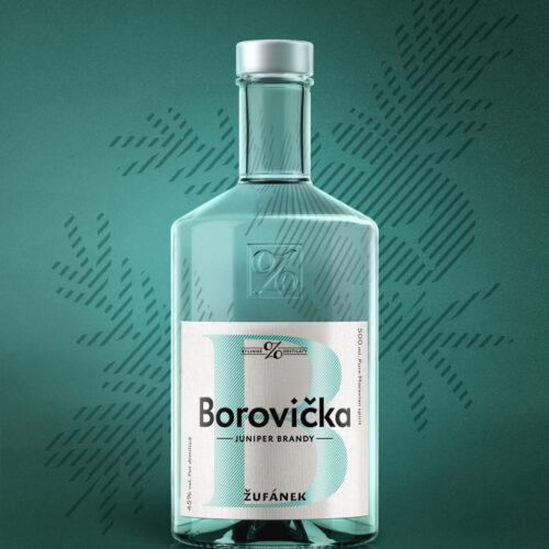 Borovička Žufánek visual