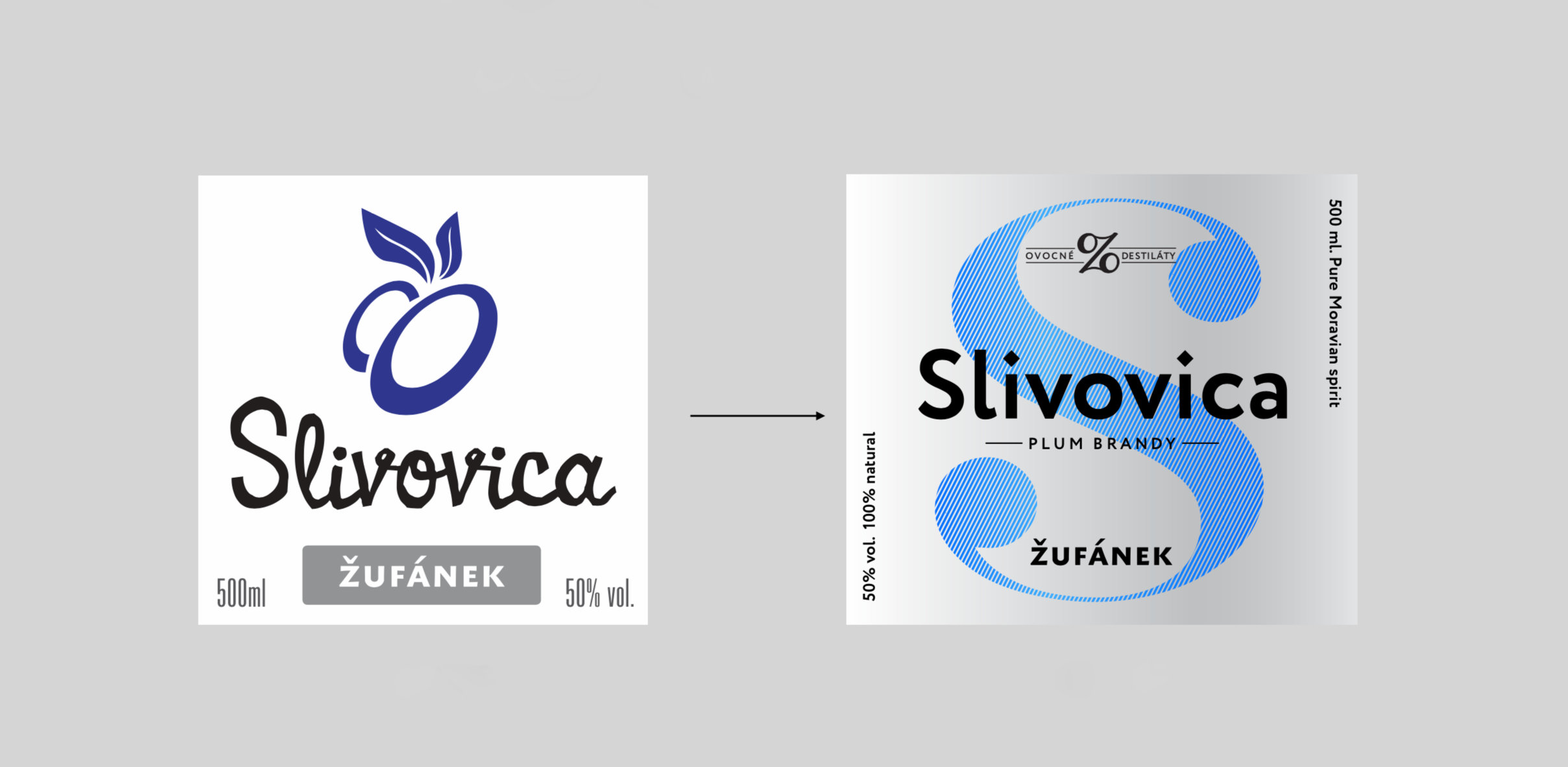 Redesigned labels | Žufánek cz